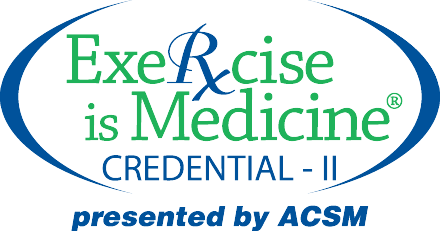 Exercise is Medicine Credential American College of Sports Medicine (ACSM)