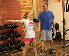 Personal Fitness Training Downtown Houston