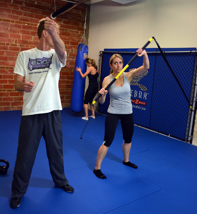 TRX Rip Trainer in Personal Training Session